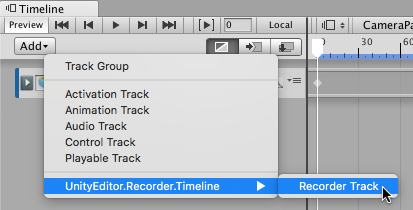 Unity Recorder V1 0 User Manual | Package Manager UI website